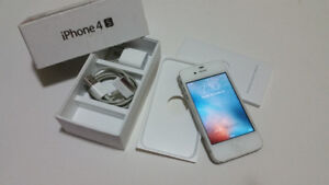 iphone 4s-16gb White color , Factory Unlocked
