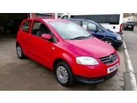 VOLKSWAGEN FOX 1.2 IN RED 1 OWNER FROM NEW CHEAP INSURANCE VERY CHEAP CAR 10 REG
