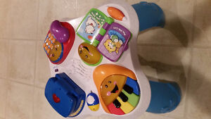 NEW PRICE !Fisher Price chair, activity table and ride on walker Cambridge Kitchener Area image 4