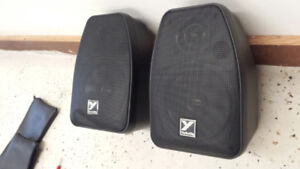 Pair of Yorkville mini monitors. 50 firm for the pair.