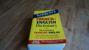 Barron's  French-English Dictionary 100000 words and phrases