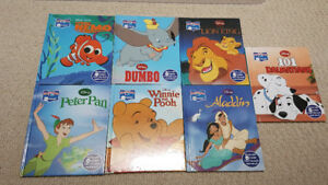 7 Classic Disney books with Me Reader
