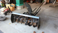"45"" snow thrower attachment for lawn tractor - model 190-831"