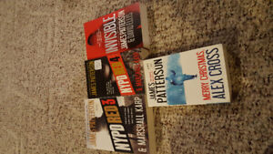 Books by James Patterson. $15 or best offer