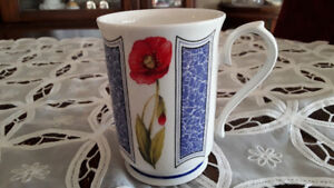 FINE BONE CHINA MUG, ELEGANCE, ENGLAND