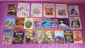 22 Animal / Mammal/ Children's Learning / Classroom Books