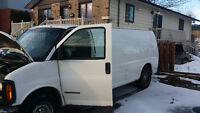 2001 GMC Savana 3500 allonger Fourgonnette, fourgon