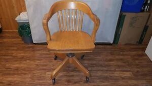 Oak Captains chair and Rocking  Chair