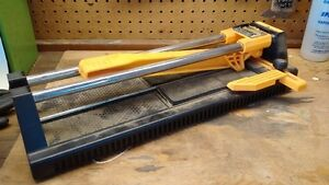 CERAMIC TILE CUTTER and TILE SAW