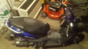 2012 Yamaha BWS 50cc scooter