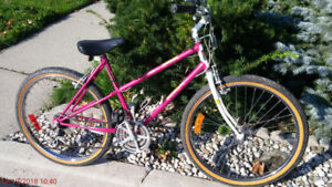 "Ladies bike 26"" tires.  Running good excellent condition."
