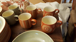 Denby (made in UK) Fire collection dining ware Kitchener / Waterloo Kitchener Area image 1