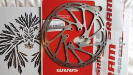 Sram 180mm disc brake rotor