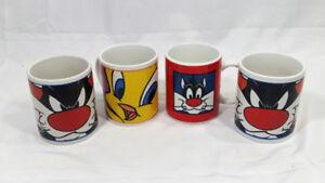 Looney Tunes Sylvester and Tweedy Coffey Mugs Ceramic GibsonUSA
