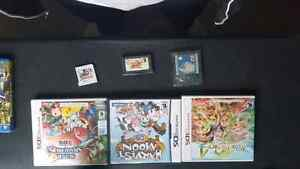 3ds games and Gba games.