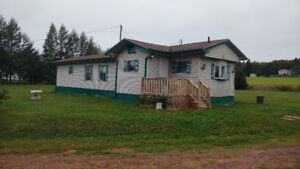Comfortable 3 bedroom, with Shop and extra lot.