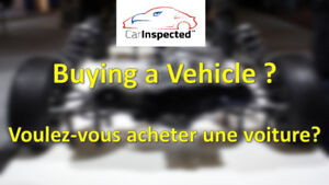 Inspection of All makes and models, our inspectors come to you