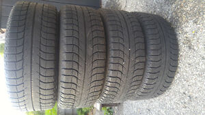 "16"" Michelin Winter Tires on Alloy Wheels (5x112)"