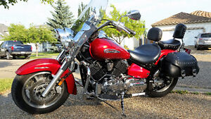 2008 Yamaha V-Star Classic with Silverado Package