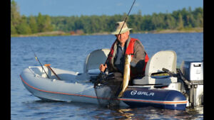 Grand Opening Special -  Canoe In Bag  with  motors