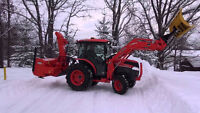 Residential and Commercial Snow Removal Services