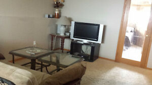 For Rent: Lacombe 1 Bedroom Furnished Basement Suite