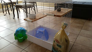 Small Pets Cage + Accessories