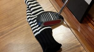 Original Black ZEBRA putter with cover in awesome condition
