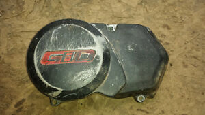 Gio engine side cover chain cover