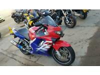 2000 V HONDA CBR600F CBR 600 SPORTS TOURING NEW MOT HPI CLEAR REDBLUE