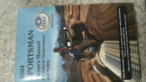 2004 Sportsman 650 owners manual