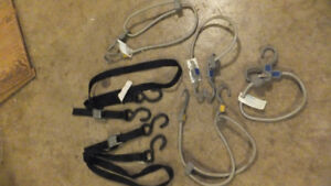 Tie Down Straps & Bungie cords - take all for $5.