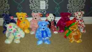 TY beanie buddies collection - mint condition!