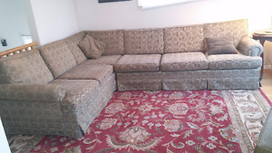 SECTIONAL SOFA COUCH CLEAN
