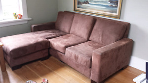 Three seater L couch for $75