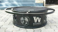 Limited Production-Winnipeg Blue Bomber 103ed Grey Cup Fire Pit.