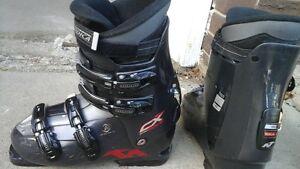 27.5 boots + 120cm poles for sale Edmonton Edmonton Area image 1