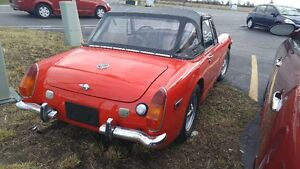 1973 MG Midget Convertible Windsor Region Ontario image 4