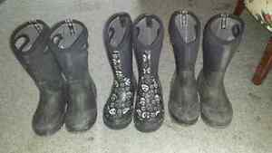 Boys bogs boots used size 12 and 13