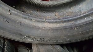 Winter tires in great condition for BMW X5 West Island Greater Montréal image 2