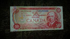 1975 $50 Dollar Bill