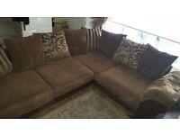 Large DFS Corner sofa.