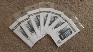 (SALE) 7x BRAND NEW iPhone 5 5s screen protector film clear
