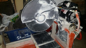 STONE CUTTING TABLE SAW FOR SALE