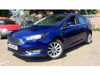 2016 Ford Focus 1.0 EcoBoost 125 Titanium (Nav Manual Petrol Hatchback
