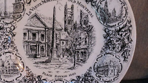 Old Montreal plate