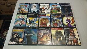 Rare playstation 2 games ps2