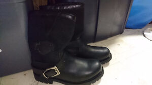 Harley Davidson Pull On Boots - Mens Size 7.5