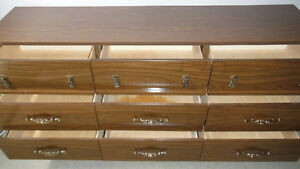 Solid Wood 9 Drawer Dresser, Delivered