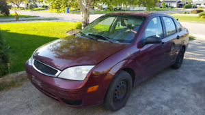 Ford focus 2006 ZX4 SE
